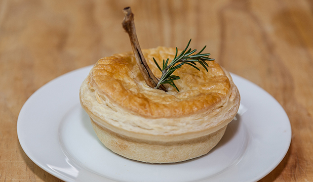 lamb and kumara pie