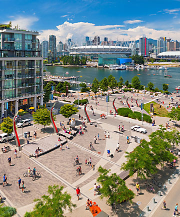 COMMENDED: The Vancouver Olympic Village in Canada transformed seven hectares of urban land into a sustainable community.