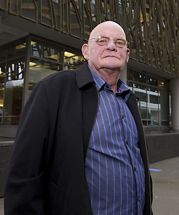 BATTLE CONTINUES: Bernard Shutt is a member of the Quake Outcasts, which is having its case heard in the Supreme Court.