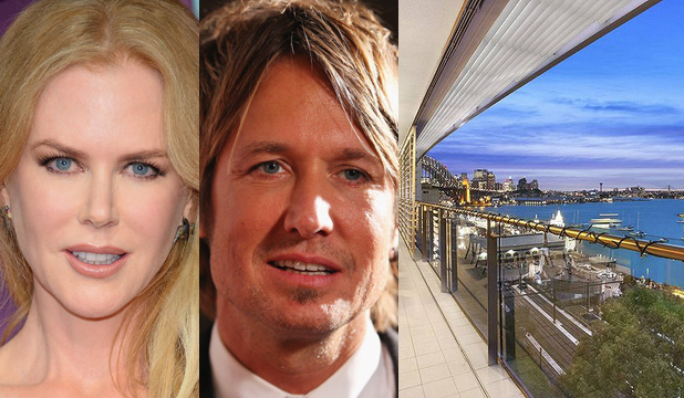 SMOKY AFFAIR: Nicole Kidman and Keith Urban are said to own the 21st-floor penthouse space as well as a 19th-floor apartment (worth a cool $2.95m) in the luxurious Latitude building in North Sydney.
