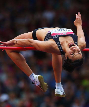 MIND OVER MATTER: Kiwi high jumper Sarah Cowley will compete in the final on Saturday morning (NZT).