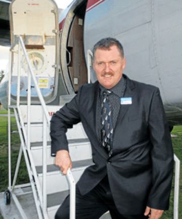 VALUES MAN: Picton man Howard Hudson is the Conservative Party's Kaikoura electorate candidate.