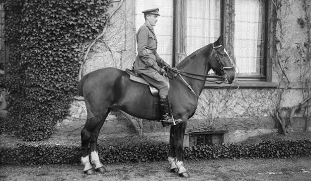 MUCH LOVED: Brigadier General Sir Herbert Hart, pictured in 1919, on his way to becoming a hero to many during a lengthy military career.