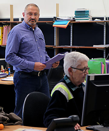 FIGHTING BACK: The emergence of claims resolution specialists such as Bryan Staples' Earthquake Services is another peculiarity of the Canterbury situation.