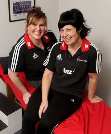 Crusaders massage therapists