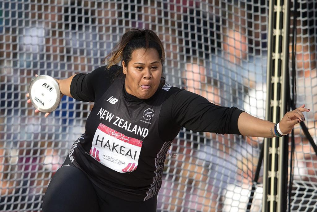 Auckland discus thrower Siositina Hakeai finished fourth in the women's discus final.