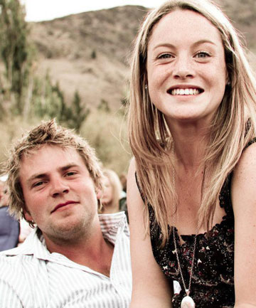 EVERYTHING AHEAD OF HIM: Stefan Zeestraten and his partner of four years,  Gemma Nicholson, were expecting the birth of their first child – a girl – in three weeks when Zeestraten crashed his ute and died.