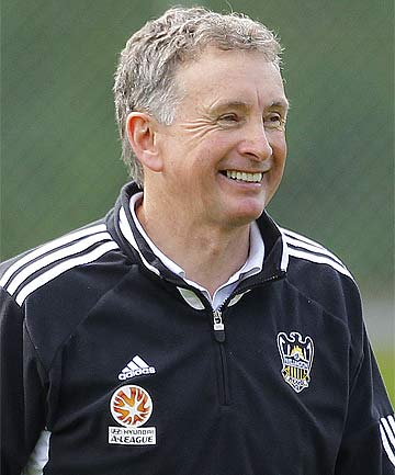 LOOKING FOR A WIN: Wellington Phoenix coach Ernie Merrick has named his squad for the FFA Cup.