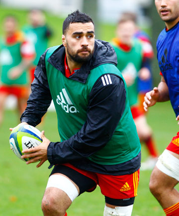Chiefs co-captain Liam Messam