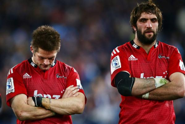 Richie McCaw and Sam Whitelock