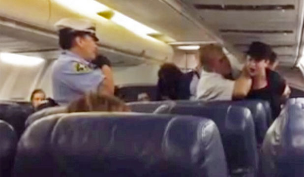 Woman kicked off US Airways