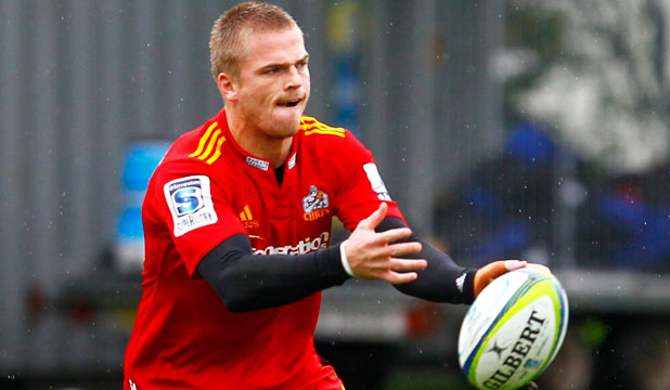 FAST TRACK: Gareth Anscombe may be wearing the Welsh national jersey in no time after Wales coach Warren Gatland sought to have the Auckland utility back on a dual contract.