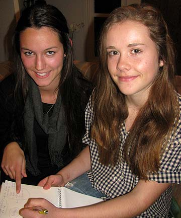 Stella Andrews, 17 and Isla Treadwell