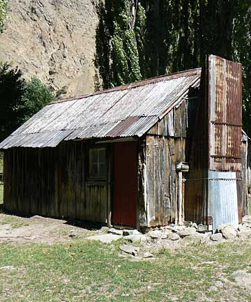 RUN-DOWN: Black Spur Hut, photographed in 2008.
