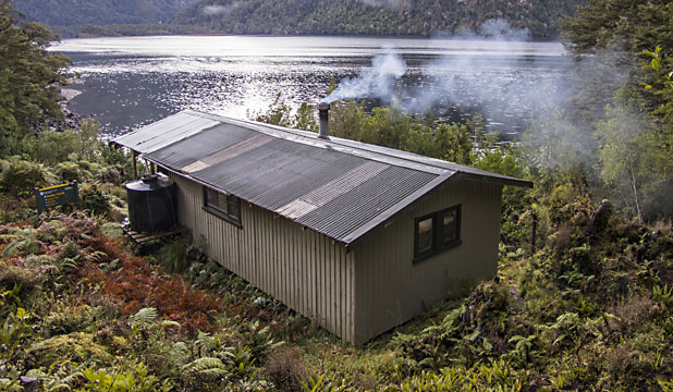 Supper Cove hut
