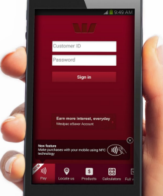 APPTITUDE: Westpac's new app uses augmented reality.