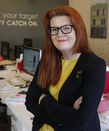 BRITISH EXPANSION: Showcase CEO Millie Jocelyn will travel to London to expand her marketing app-building business in UK and Europe.
