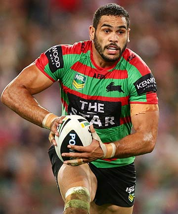 BIG CALL: Despite being part of the great Queensland legacy and winning a World Cup, Greg Inglis has said winning a NRL title with South Sydney would be the biggest achievement of his career.