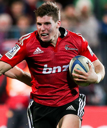 MERITED: A fine Super Rugby season sees Colin Slade recalled to the All Blacks after fellow Crusader Dan Carter's injury.