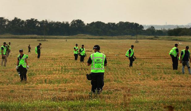 MH17 search