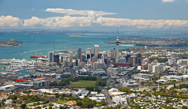 """AUCKLAND ON TOP: Conde Nast Traveler readers have described Auckland as a """"gorgeous"""" city on the water with clean air, fresh food and amazing culture."""
