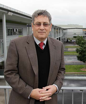 HUMBLE: Principal Michael Leach is leaving Botany Downs Secondary College to take up the post of head at Kings College.