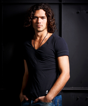 PLENTY OF EXCESS: Luke Arnold says playing Michael Hutchence was a dream role.