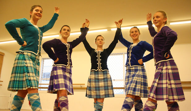 Marlborough highland dancers