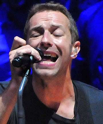 BEAUTIFUL PAIN: Chris Martin has opened up about his split from Gwyneth Paltrow.