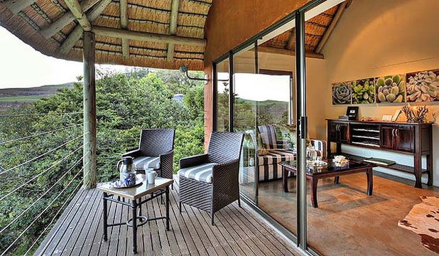 HEAVENLY HIDEAWAY: Forest Retreat room at The Cavern Drakensberg Resort.