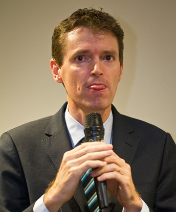 CONSERVATIVE LEADER: Colin Craig.