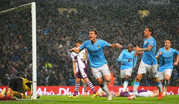 BLUE IS THE COLOUR: Manchester City will be the target for all English Premiership teams in the upcoming season.