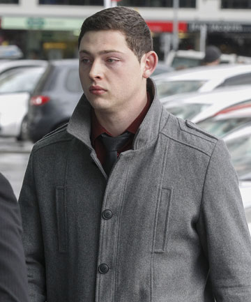 DANGEROUS GAME: Jordan Holmes, 21, of Paraparaumu, has been sentenced for dangerous driving causing injury after playing chicken with friends. He hit one of them, leaving him with lasting head injuries.