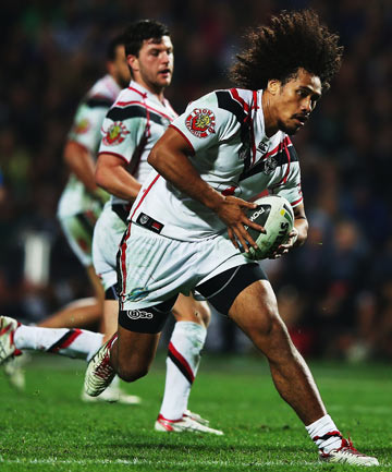 ROLLERCOASTER RIDE: Warriors forward Sione Lousi is finally back playing after a wretched run of injuries.