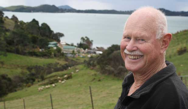 Coromandel mussel farmer Gilbert James.