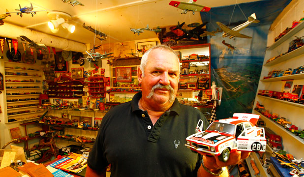 Wooden Toy Cars >> Toy collector still a boy at heart | Stuff.co.nz