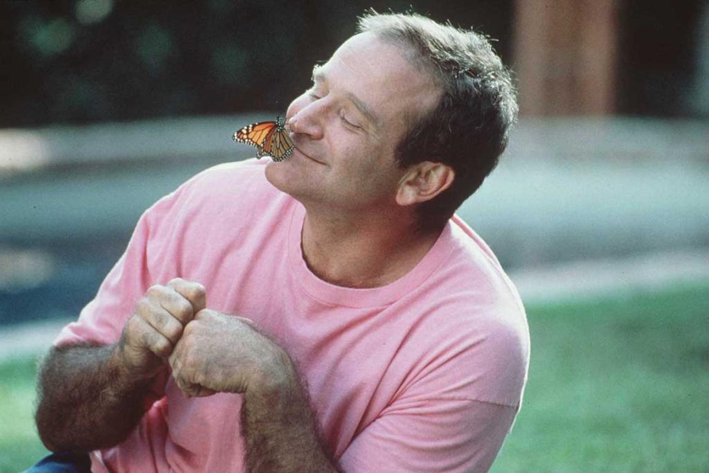 "Robin Williams stars in his 1996 movie ""Jack""."
