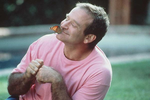 Robin Williams stars in his 1996 movie