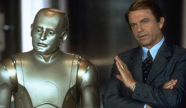 BICENTENNIAL MEN: Robin William and Sam Neill.