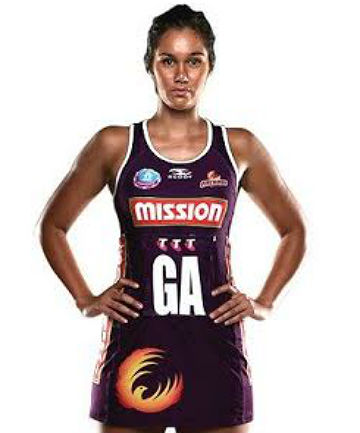 CROSSING THE DITCH: Ameliaranne Wells is swapping a Queensland Firebirds dress for a Central Pulse one.