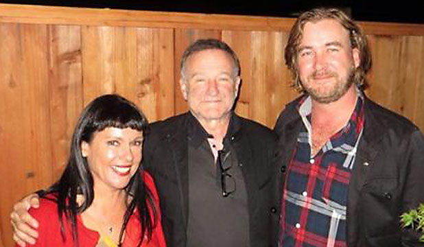 michele a'court with robin williams