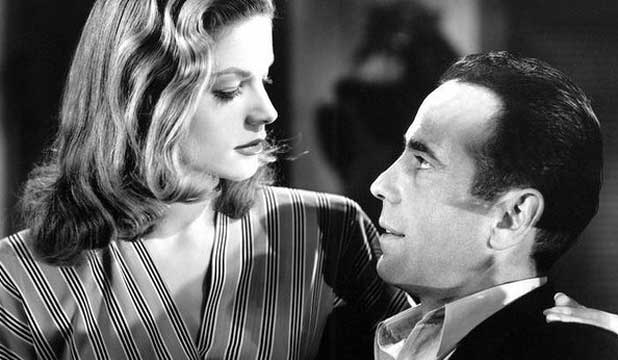 SCREEN LEGENDS: Lauren Bacall, Humphrey Bogart, in 1944 movie To Have and Have Not.