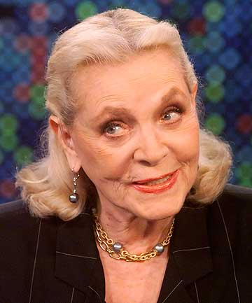HOLLYWOOD SCREEN LEGEND: Lauren Bacall has died aged 89.