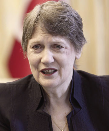 SPECULATION: Helen Clark says there will inevitably be rumours about her future at the UN.