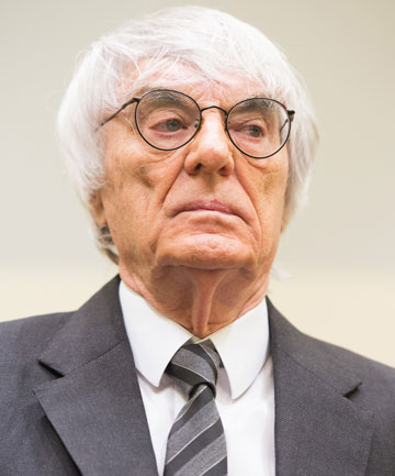 GETTING OFF: With a US$100 million payment made to Munich state court, the bribery case against Formula One boss Bernie Ecclestone was formally closed.