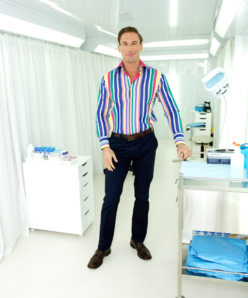 EMBARRASSING BODIES: Dr. Christian, one of the presenters.