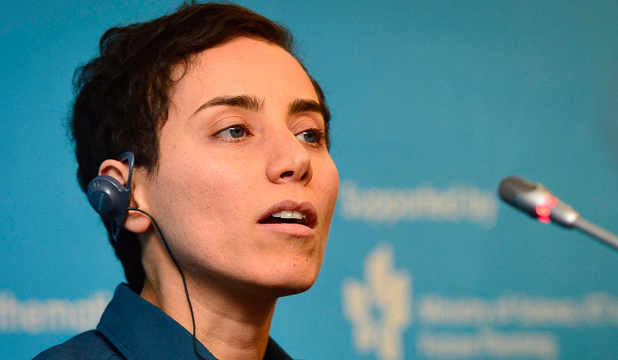 MARYAM MIRZAKHANI: Looking for beautiful solutions.
