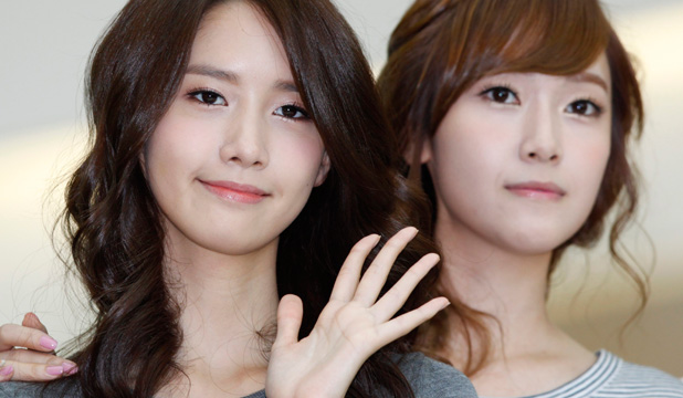 THE NO-MAKEUP MAKEUP LOOK: South Korean girl group Girls' Generation members Yoona and Jessica show off that barely-there dewy-skin beauty look.