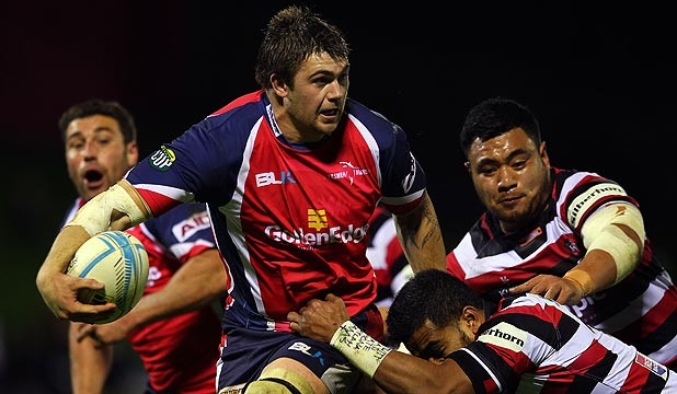 ON THE BURST: Liam Squire will be keen to continue the form which saw him called into the All Blacks training squad.