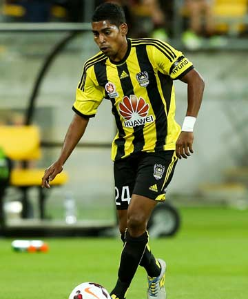 MAN OF THE MATCH: Wellington Phoenix striker Roy Krishna.